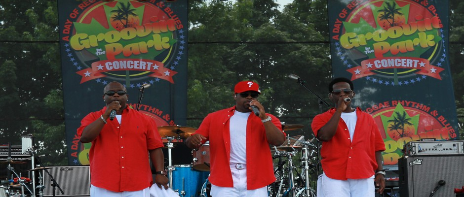 Boyz 2 Men in Concert at Groovin In The Park 2012